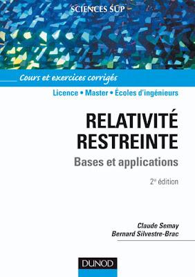 Télécharger Livre Gratuit Relativité restreinte - Bases et applications - Cours et exercices corrigés pdf