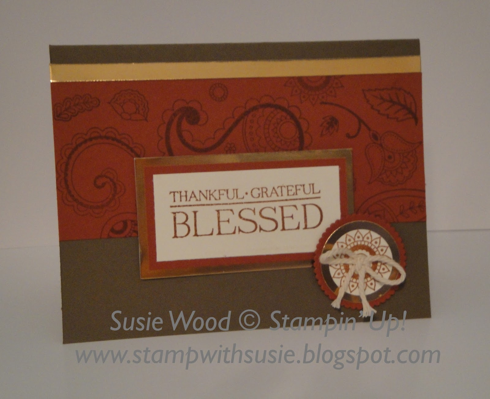 Stamp With Susie Stampin Up Paisleys Posies Holiday Catalog
