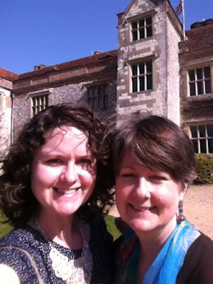 Enjoying one last look at Chawton House