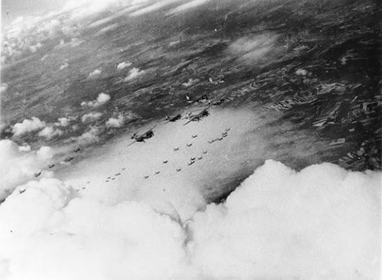 B-26 sopra l'italia