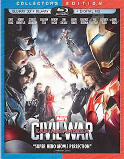 DVD & Blu-ray Release Report, Captain America: Civil War, Ralph Tribbey