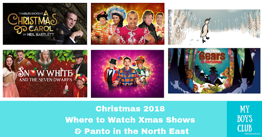 Christmas 2018 – Where to watch Xmas Shows & Panto in the North East