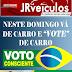"Neste domingo vá de carro e ""Vote"" de carro. Aluguel de veículos na JR Veículos em Ruy Barbosa: 075999597783"