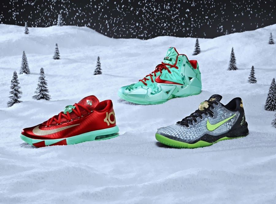 95cfd787a638 Nike 2013 Christmas Pack Officially Unveiled