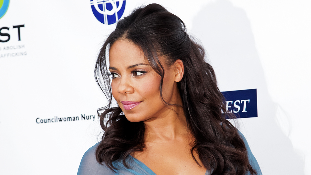 hair straight Sanaa lathan