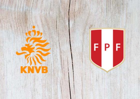 Netherlands vs Peru Full Match & Highlights 06 September 2018
