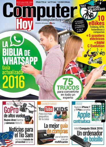 Computer Hoy N° 471: Guía actualizada WhatsApp 2016