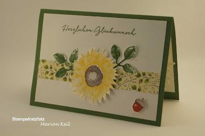 """Popup-Karte """"Herbst"""" mit Stampin´ Up!"""