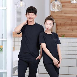 áo thun cổ tròn màu đen giá rẻ