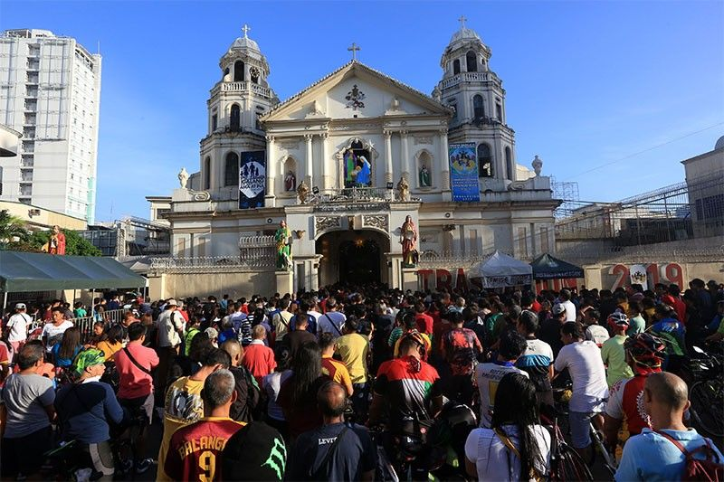 Traslacion 2019 ends after 21 hours, over 1 million devotees