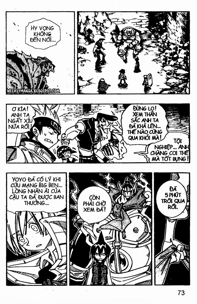 Shaman King [Vua pháp thuật] chap 107 trang 15