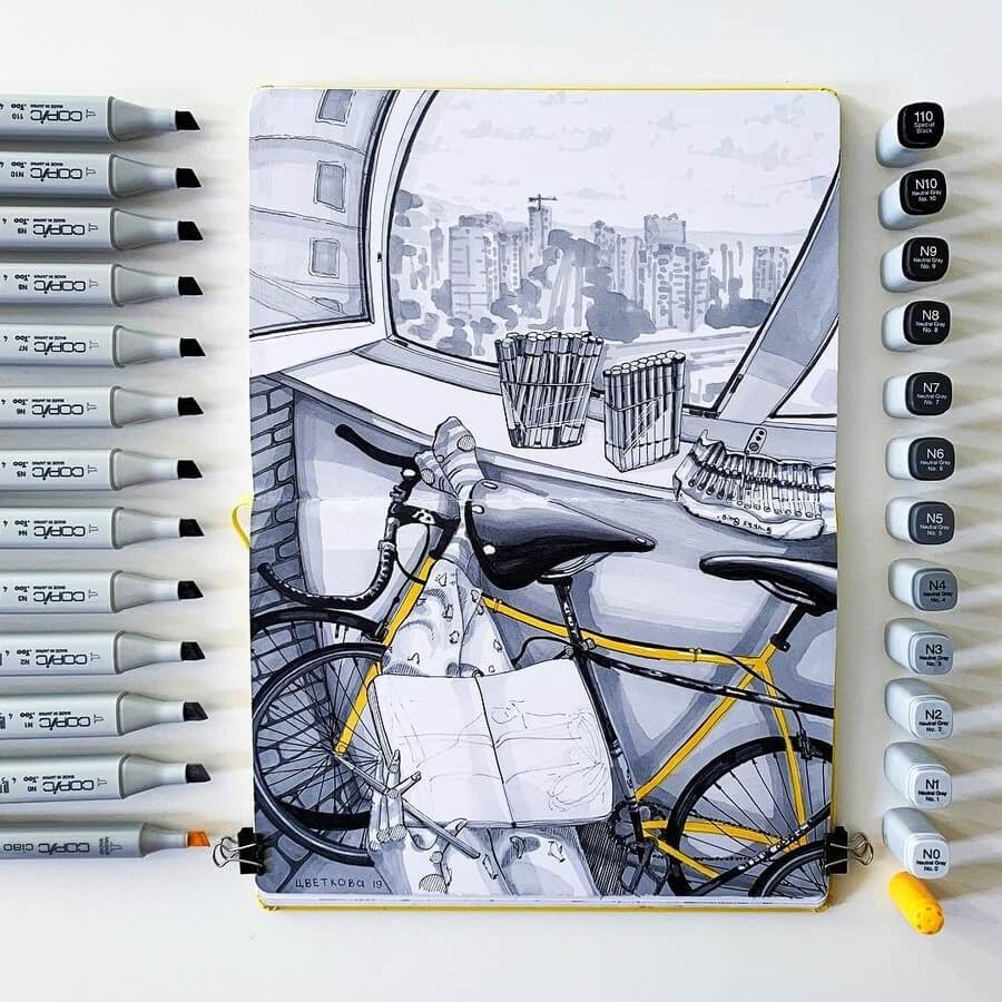 08-Yuliia-Zvetkova-Architectural-Drawings-www-designstack-co