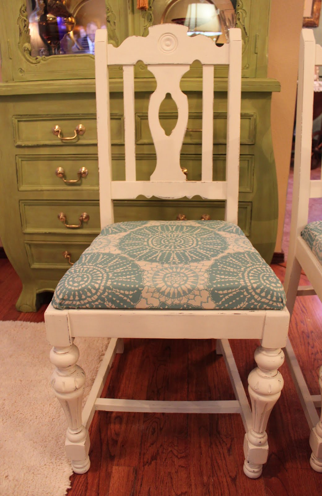 Chalk Painted Dining Chairs