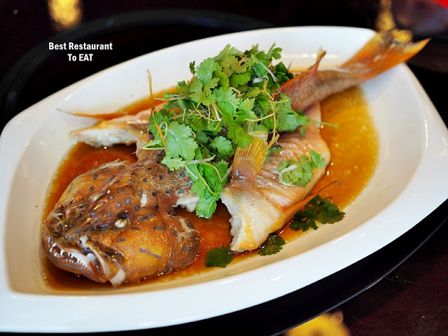 CHINESE NEW YEAR 2020 Menu - Hong Kong Style Steamed Red Coral Trout with Superior Soya Sauce