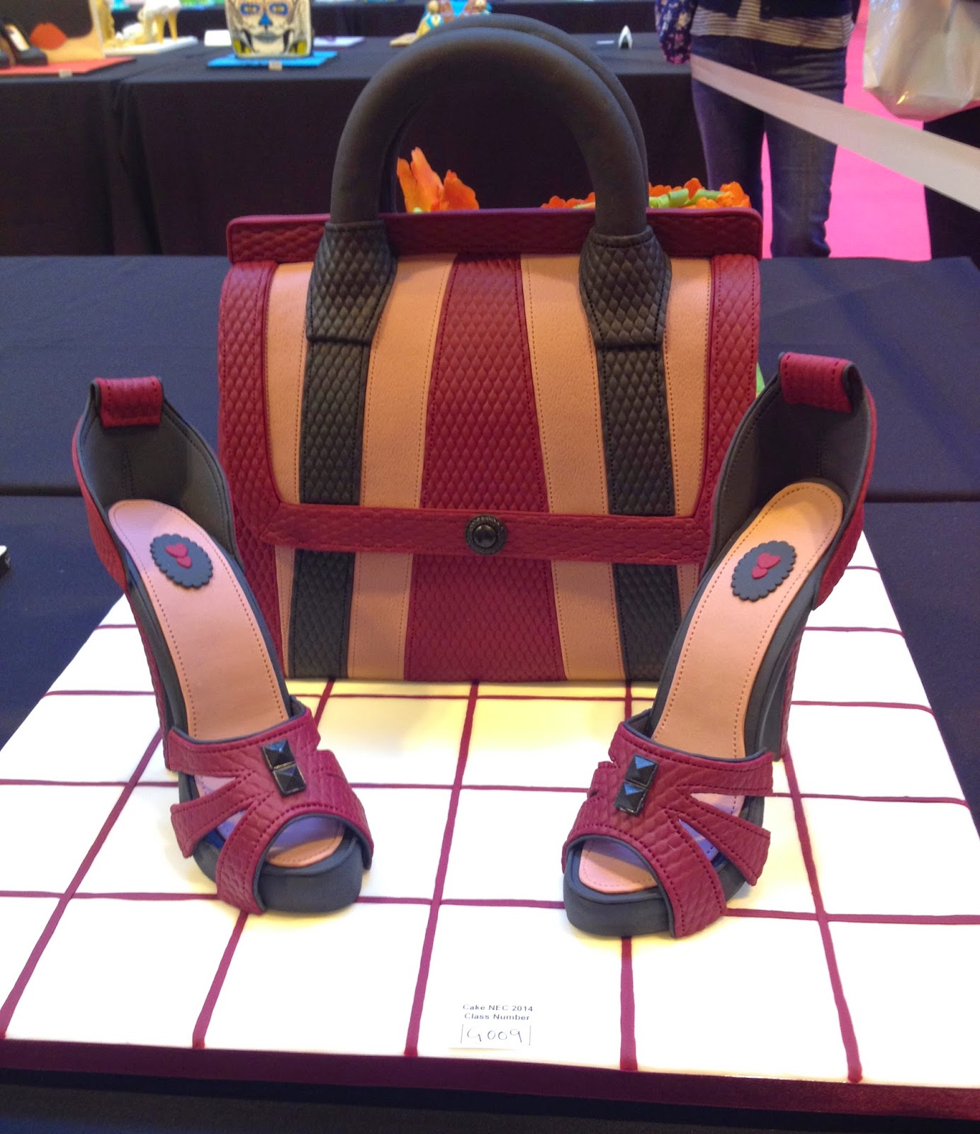 Shoes and Handbag Cake