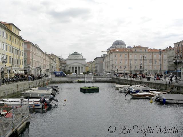 Canal Grande (Ponterosso) a Trieste