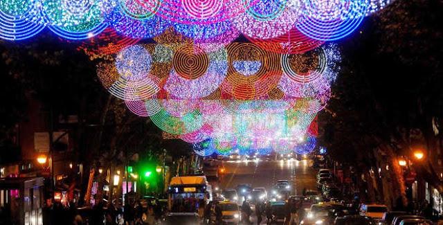 Luces de Navidad 2016 - 2017 en Madrid