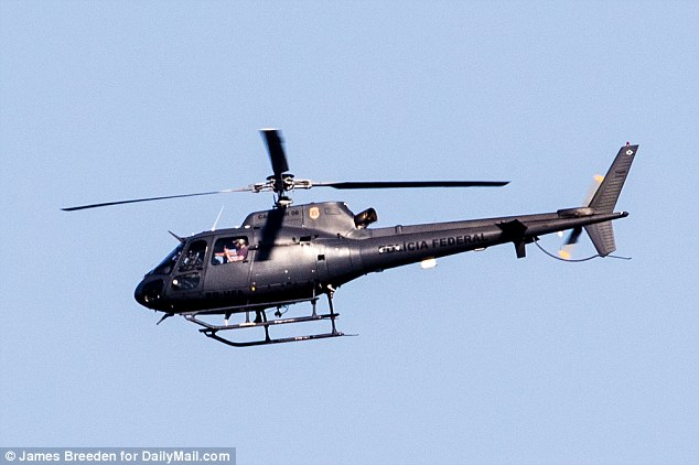 Rio Olympics: US Helicopter