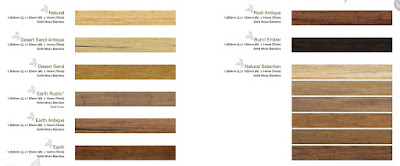 Bamboo Flooring Type