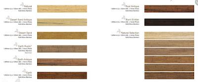 Bamboo Flooring Type