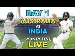 Ind vs Aus 4th test 2019 1st-day, live cricket score, highlight