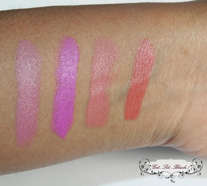 NYX Matte Lipsticks in Natural,Shocking Pink,Euro Trash ...