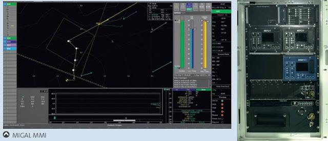 El sistema MIGAL permite efectuar el ingreso de parámetros, secuencia de lanzamiento y guiado de hasta cuatro torpedos en simultáneo