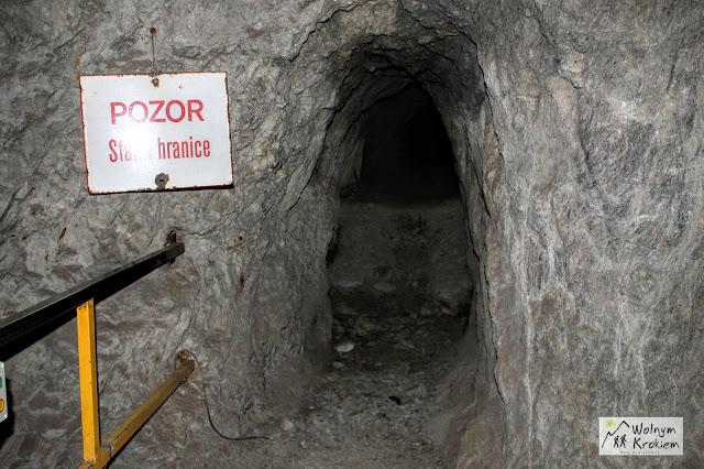 Podziemne przejście graniczne do czech w sztolni Czarna Górna