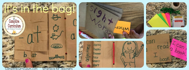 Looking for new ways to engage your students? Try these bag books for a hands on approach. This post explains how they're made and used.