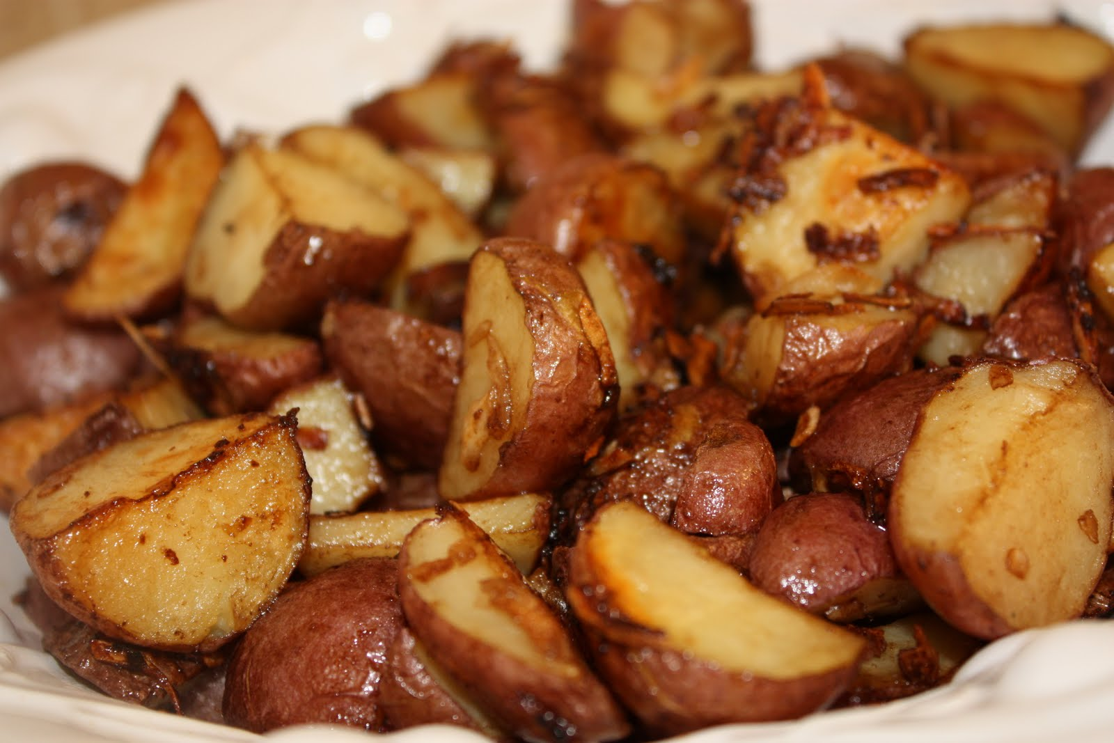 Everyday Sisters Oven Roasted Red Potatoes