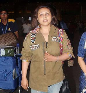 Rani Mukherjee is back her first film after pregnancy