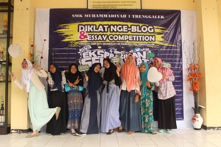 Diklat  Nge-blog dan Essay Competition Esemkamu