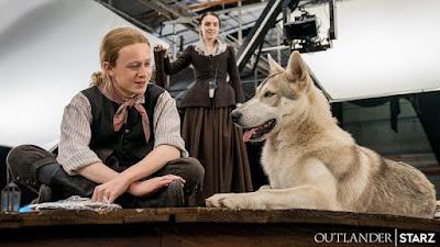 John Bell confiesa adorar a Rollo, su fiel compañero en Outlander