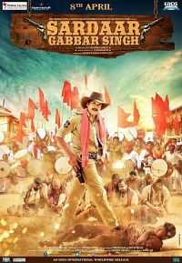 Sardaar Gabbar Singh (2016) Hindi Dubbed Download 300MB