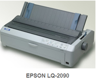 Epson LQ-2090 brings outstanding performance to 24-pin segment. In addition to high-speed printing of up to 529 characters per second