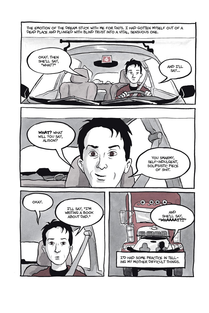Page 5, Chapter 1: Ordinary Devoted Mother from Alison Bechdel's graphic novel Are You My Mother