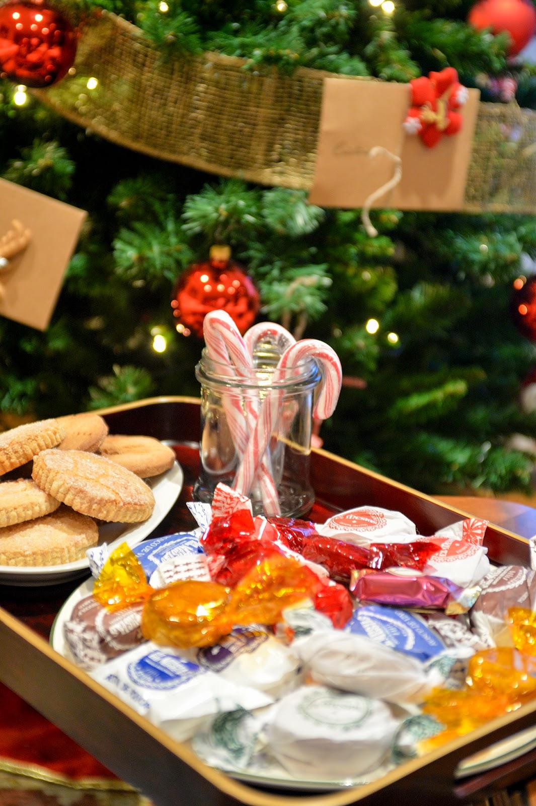 Christmas decor sweets dulces Navidad decoracion