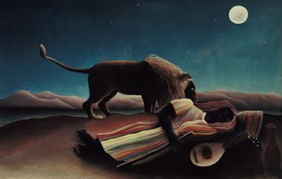 Le nomade dormant - Henri Julien-Félix Rousseau