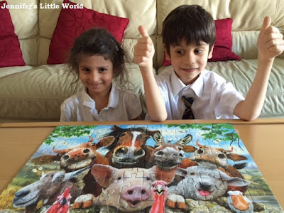 Farmyard Selfies jigsaw puzzle from Ravensburger