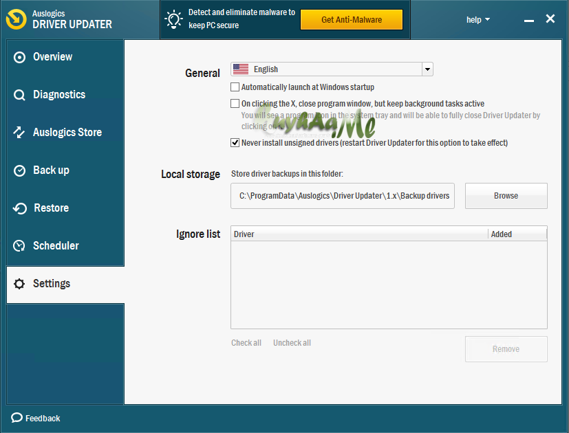 Auslogics Driver Updater final
