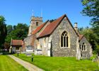 St Mary church North Mymms taken in June 2015 Image by the North Mymms History Project released under Creative Commons BY-NC-SA 4.0