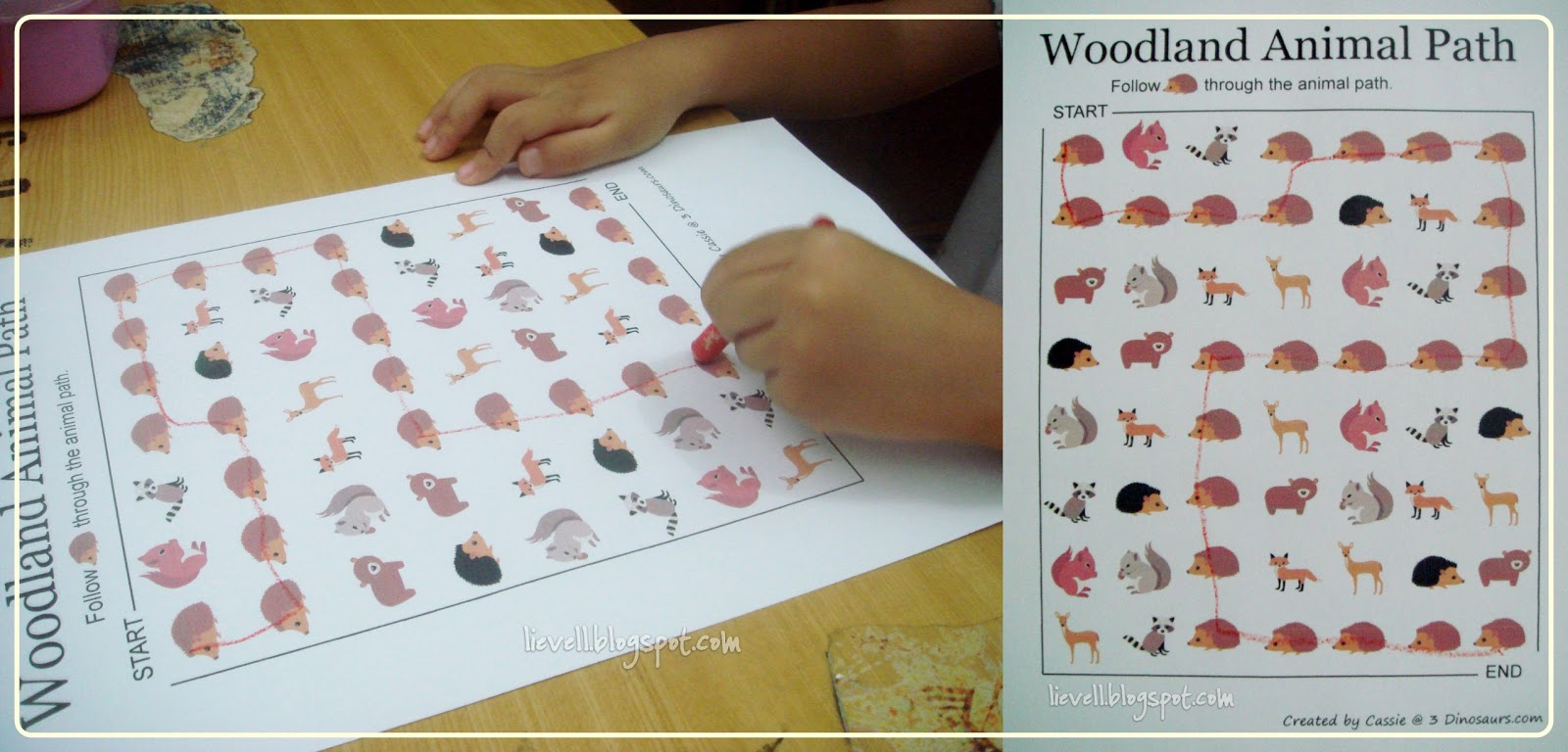 Preschool Letter W And Woodland