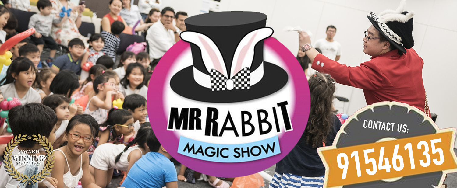 Singapore's Favourite Children Magician - Mr Rabbit's Kids Magic Show for birthday parties