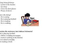 Soal UTS Bahasa Inggris Kelas 4 Kurikulum 2013