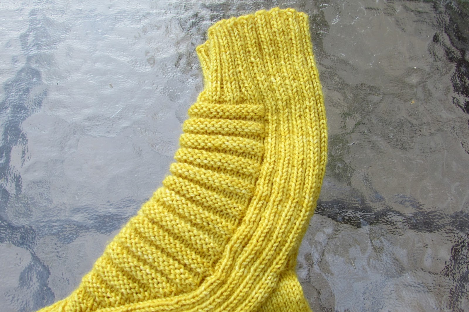 Dirty Water DyeWorks: The Banana Socks