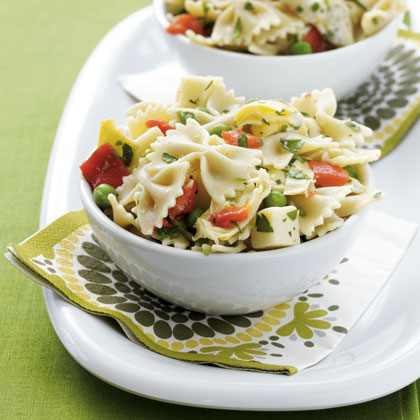 ounce can artichoke hearts packed in water Mediterranean Pasta Salad Recipe