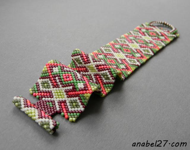 украшения из бисера купить браслет из бисера анабель
