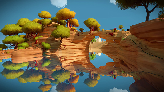 The Witness Paysage