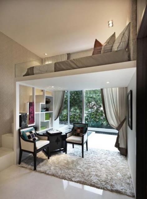 Dormitorios en Altillos Para Espacios Pequeños