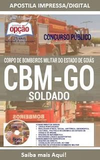 Apostila CBM-GOIÁS Soldado Bombeiros Militar-GO